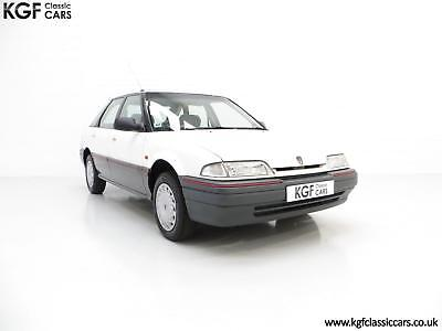 A Nostalgic Rover 214SLi with a Low 37,527 Miles from New