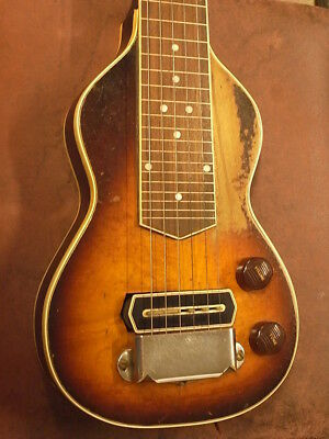 30's Gibson EH-150 LapSteel w/HC Free Shipping