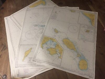 St Lucia to Grenada Admiralty Leisure Folio 1st Edition 2003 -24 Nautical Charts