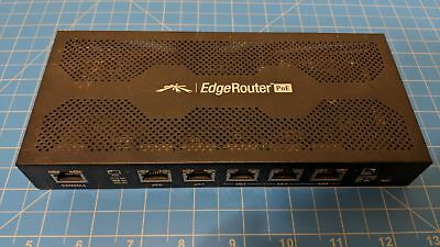 Ubiquiti ERPoe-5 wired EdgeRouter PoE 5-Port Metal (Power Adapter not included)