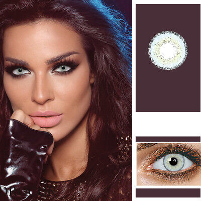 Unisex Big Eye Makeup Charming Colored Contact Lenses Cosmetic Tool Con Clase