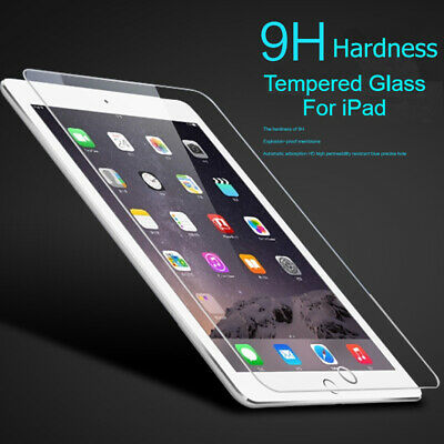 Tempered Glass Screen Protector For IPAD 2 3 4 5 6 Air 1 2 Pro 9.7''