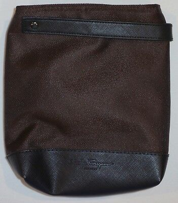 Singapore Airlines First Class Amenity Kit / Toiletry Kit Bag (Satchel Style)