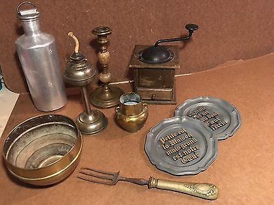 Lot Objets Anciens - Collection - Brocante