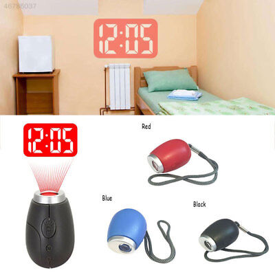 DF26 Digital Alarm Clock Clock Watch LED Projection Snooze Display Night Lamp