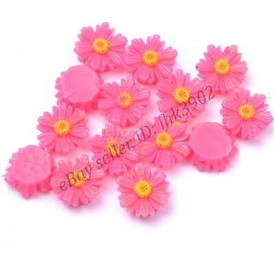 20Pcs Gorgeous plum Sunflower Coral Spacer Beads 12MM