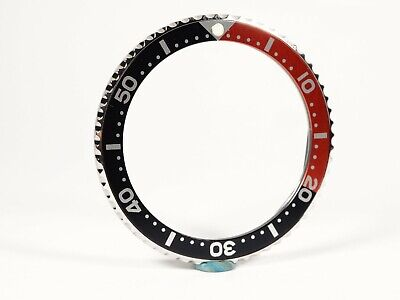 New Bezel With Red Black Insert for Vostok Amphibian and Komandirskie