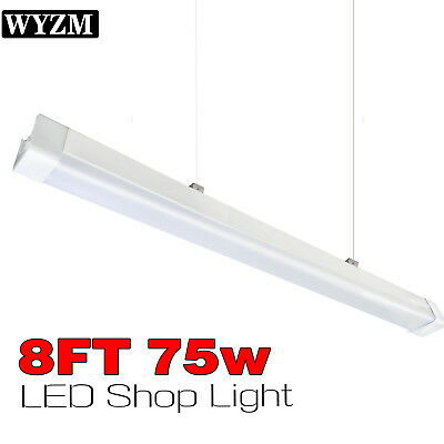40W 75W 8ft LED Linear Shop Light for F96T12 T12 LED 8ft Tube Light Replacement