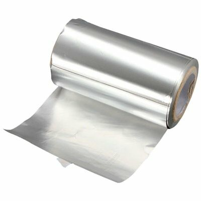 50M Silver Hair Tinfoil Foil Colored Highlight Salon Hairdressing Styling T Y9E8