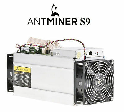 Bitmain Antminer S9 14TH including APW3++ PSU Bitcoin altcoin crypto mining rig