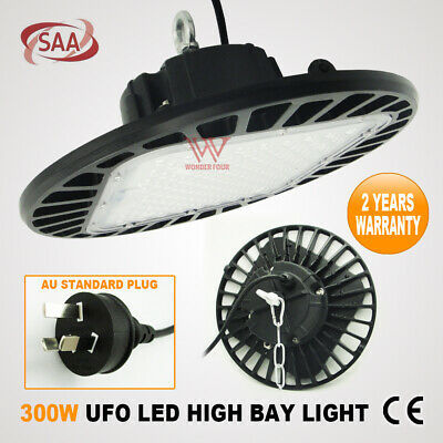 300W Led Ufo High Low Bay Factory Work Shop Down Light Warehouse Industrial Lamp
