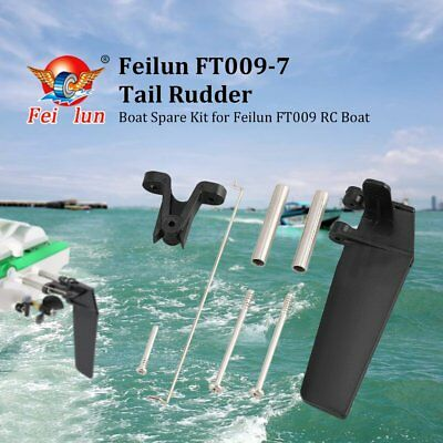Feilun FT009-7 Steering  Tail Rudder Spare Part  Assembly for FT009 RC Boat GA