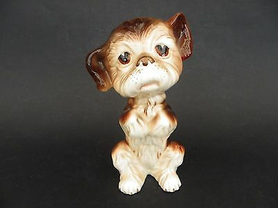 """Melba Ware England, Puppy Dog Ornament, 7"""" tall approx."""