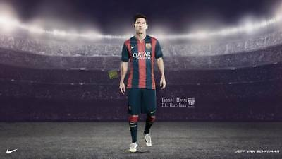 """TY07669 Lionel Messi - FCB Football Star Soccer 24""""x14"""" Poster"""