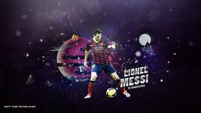 """TY07694 Lionel Messi - FCB Football Star Soccer 24""""x14"""" Poster"""