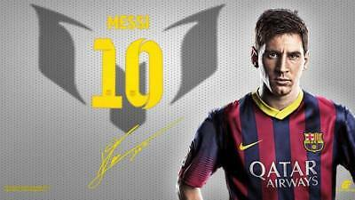 """TY07715 Lionel Messi - FCB Football Star Soccer 24""""x14"""" Poster"""