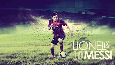 """TY07692 Lionel Messi - FCB Football Star Soccer 24""""x14"""" Poster"""