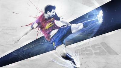 """TY07673 Lionel Messi - FCB Football Star Soccer 24""""x14"""" Poster"""