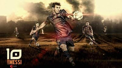 """TY07707 Lionel Messi - FCB Football Star Soccer 24""""x14"""" Poster"""
