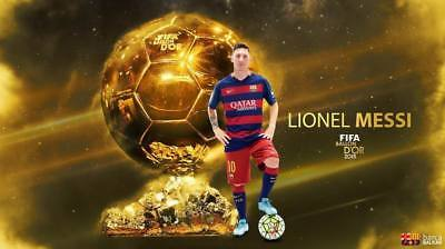 """TY07743 Lionel Messi - FCB Football Star Soccer 24""""x14"""" Poster"""