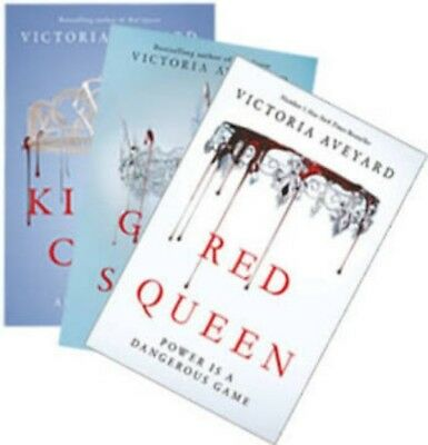 Bn & Shrinkwrapped - Red Queen 3 Book Set Trio - Victoria Aveyard - Paperbacks