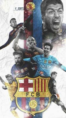 """TY07614 Lionel Messi - FCB Football Star Soccer 14""""x24"""" Poster"""