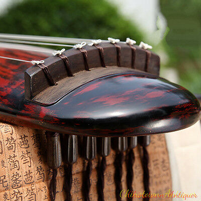 """48"""" Professional Guqin Chinese 7-stringed zither instrument -Taichi Style #2810"""