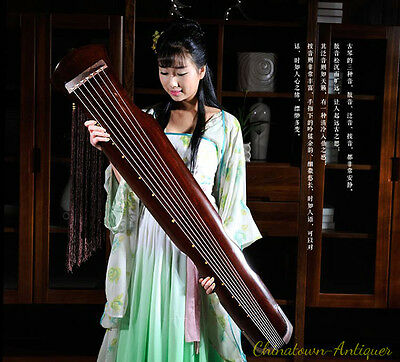 """48"""" Professional Guqin Chinese 7-stringed zither instrument - Fu-hsi Style #2809"""