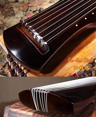 """48"""" Professional Guqin Chinese 7-stringed zither instrument - Fu-hsi Style #2808"""