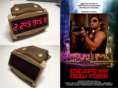 ESCAPE FROM NEW YORK - Snake Plissken countdown timer (Free Shipping)