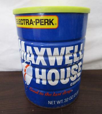 Vintage Nos Maxwell House Coffee 2 Pound Can Sealed Unopened