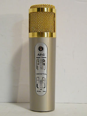 VocoPro All-U Karaoke Mic for Android and iOS - U-Fix-It - No Power