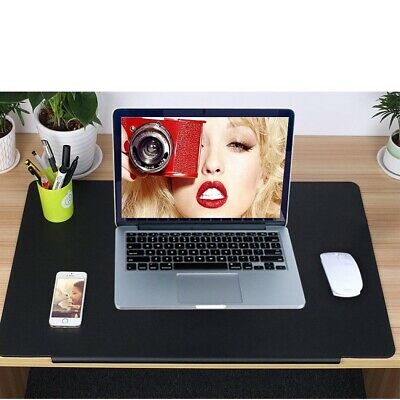 700x450mm Large Desk Writing Mat PVC Leather Mouse Pad for Laptop PC Gaming UK