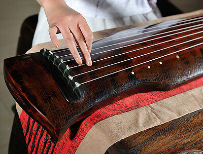 """48"""" Highest grade Guqin Chinese 7-stringed zither instrument -Fu-hsi Styley#2825"""