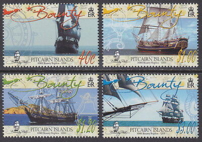 PITCAIRN ISLANDS - 2005 HMS Bounty (Replica) (4v) - UM / MNH