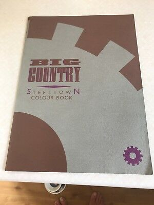 Big Country Tour Programme