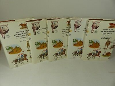 Set of 5 Proud Bailey Postal History books Military History - NEW