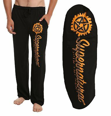 Mens Womens NEW Supernatural Join The Hunt Pajama Lounge Pants Size S-2XL