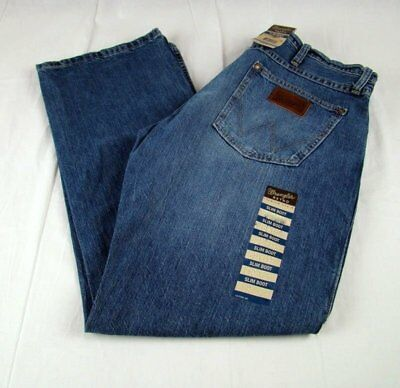 ade5ed7b Mens Wrangler Retro Slim Boot Cut Premium Patch 77MWZWO Jeans Size 31X30