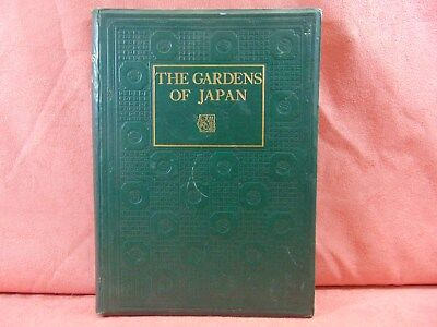 The Gardens of Japan BY JIRO HARADA 1928 Hardcover Book
