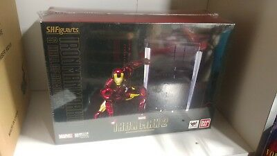 Bandai Iron Man 2 Mk IV Mark 4 & Hall of Armor S.H. Figuarts new MISB