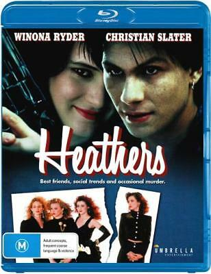 Heathers  - BLU-RAY - NEW Region B