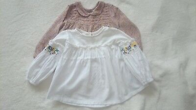 next baby girl blouse size 12-18 months
