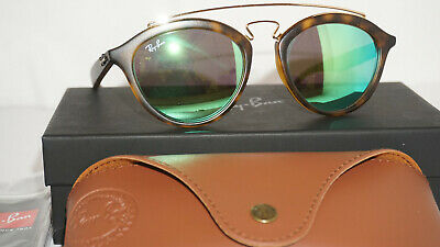06d2da05a0d RAY BAN NEW Sunglasses GATSBY Black Gold Green Classic RB4257 601 71 ...