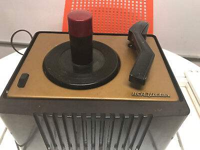 Vintage RCA Victor 45-EY-2 45 RPM Record Player Powers On ~ Ships FREE!