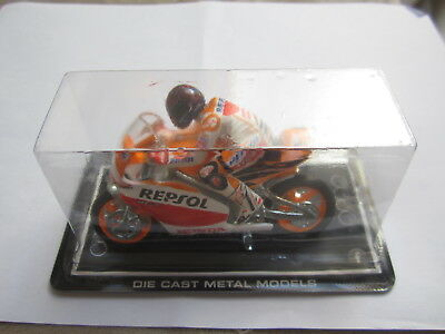 Moto Repsol Honda Medidas: 7 Cm Made In Spain Die Cast Guisval Metal Models