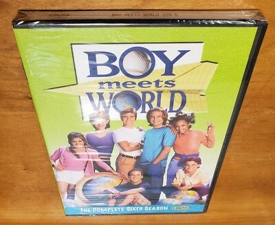 Boy Meets World: The Complete Sixth Season (DVD) 3-Disc Set 6 tv show series NEW