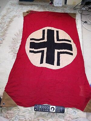 Ww2 German Axis Tank / Lorry Vehicle Identity Flag Stop Friendly Fire