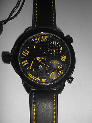 Montre Triple TimeZone by INFANTRY style Diesel Fossil