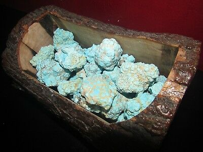 1/4 pound lots of Rough Natural Unstabilized Sleeping Beauty Turquoise